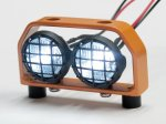 1:10 Led Lighting (2 inline) / Orange Metal Frame DY1020521