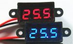 Waterproof Mini Digital Voltage Check Meter with Receiver Plug