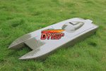 "980mm (38.5"") Kevlar / Carbon Composite Catamaran Hull New Zonda"