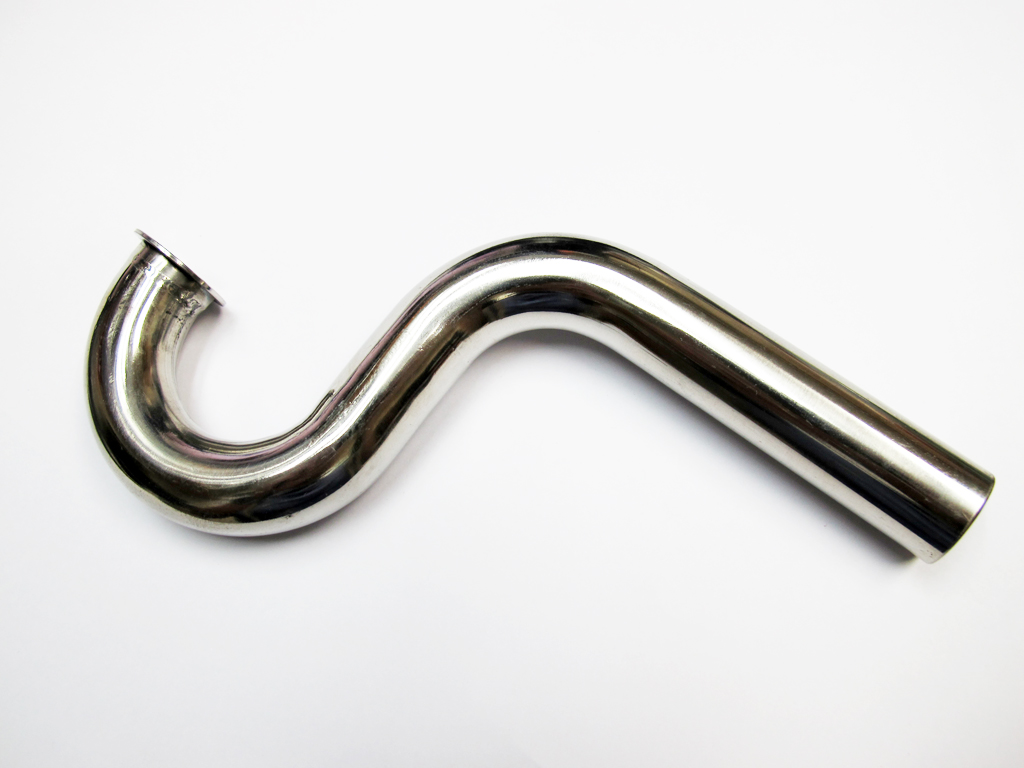 Wrap to Center (WTC) Stainless Steel Header