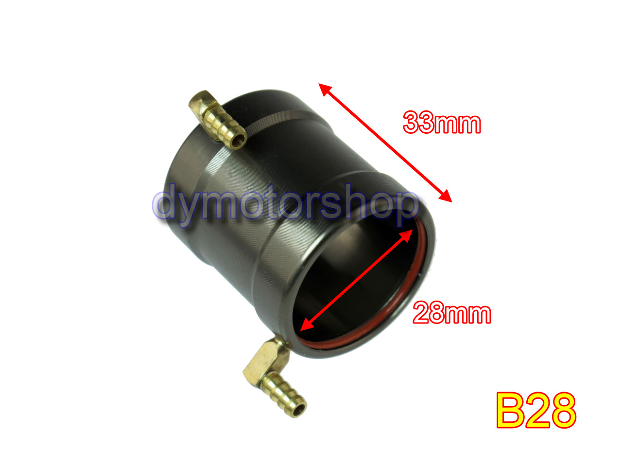 Aluminum Water Cooling Jacket for B28 ID: 28mm Brushless Motor