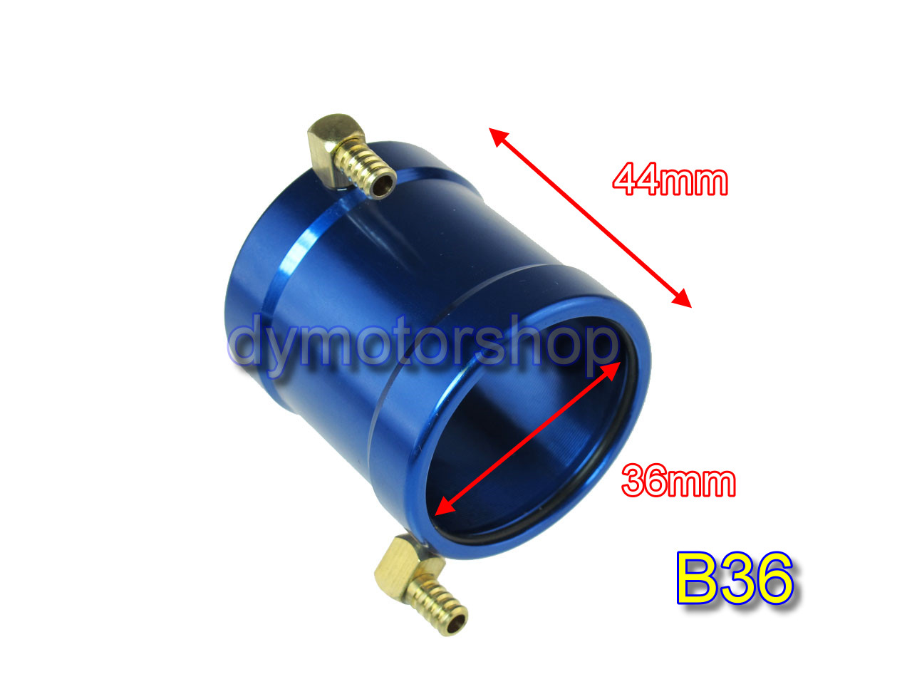 Aluminum Water Cooling Jacket for B36 ID: 36mm Brushless Motor
