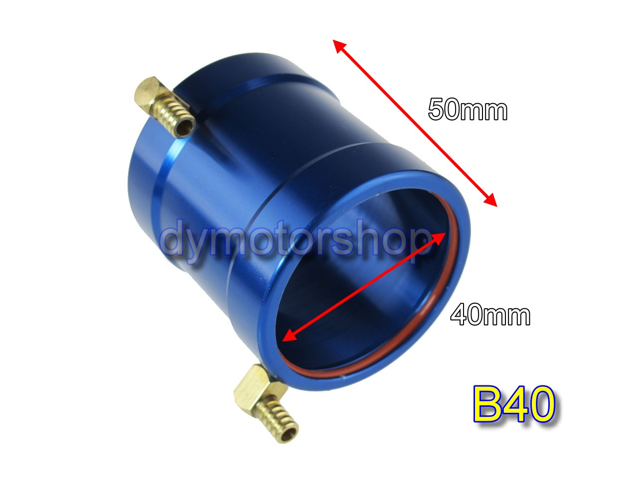 Aluminum Water Cooling Jacket for B40 ID: 40mm Brushless Motor