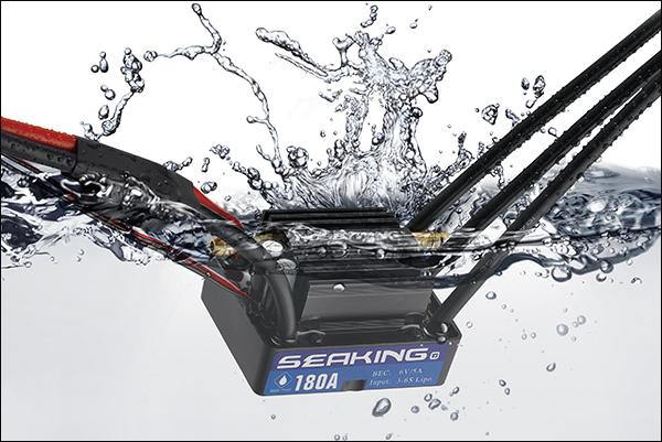 Hobbywing SeaKing 180A V3 Brushless Motor BOAT SYSTEM V3 Series