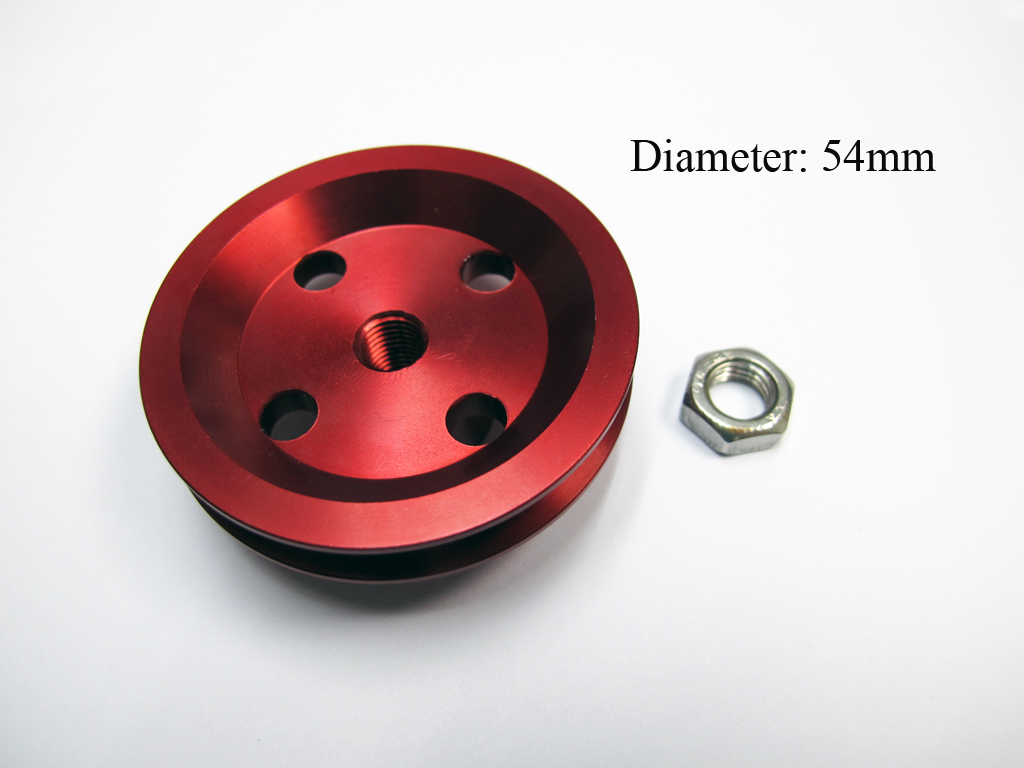 Aluminum Starter Pulley For Starter Belt and Electric Starter