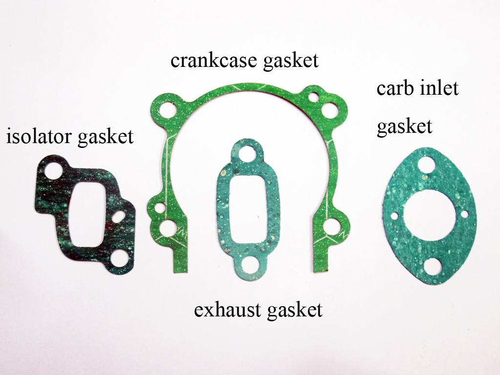 Insulation Gasket Set (Crankcase, Carburetors, Exhaust)