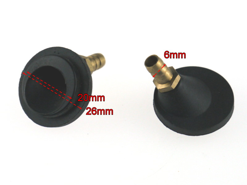 Water Pickup Flush Type Single Circle with Brass Nipple