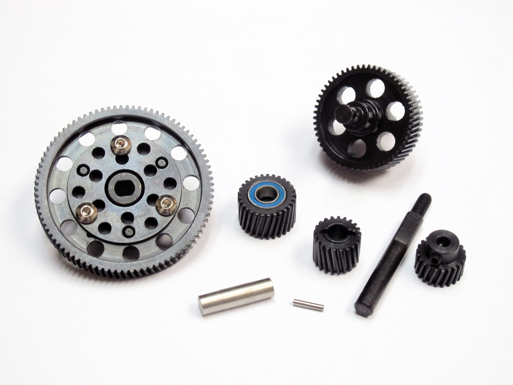 Full Metal Center Gear Drive with Bearing for SCX 10