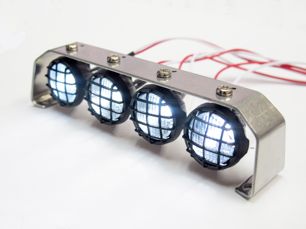 1:10 Led Lighting (4 inline) with Metal Frame DY1020531