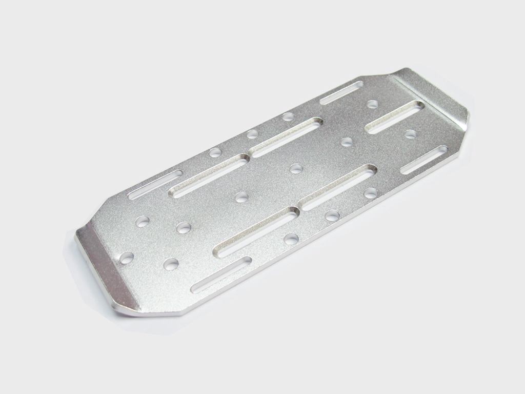 Aluminum Adjustable Battery Mounting Plate For Axial SCX10