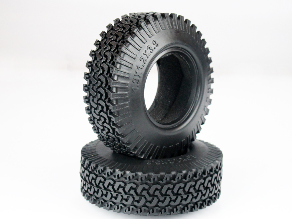 4 pcs 99mm OD Tire Set with Foam Inserted for 1.9 Rim DY1020215