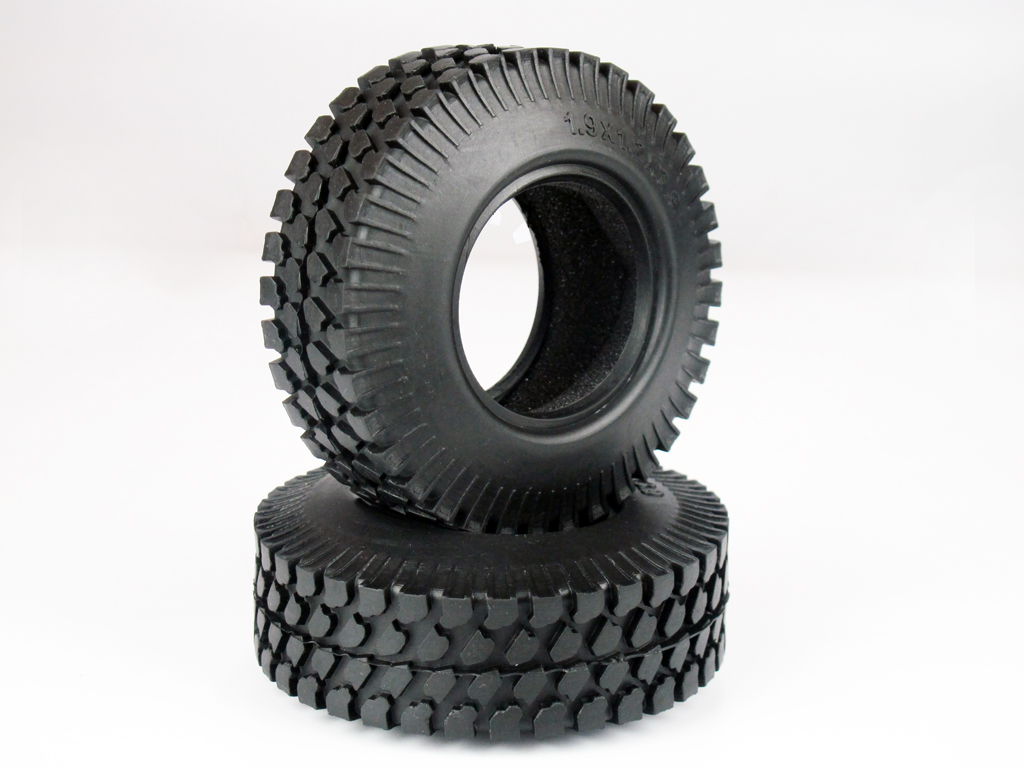 4 pcs 99mm OD Tire Set with Foam Inserted for 1.9 Rim DY1020217