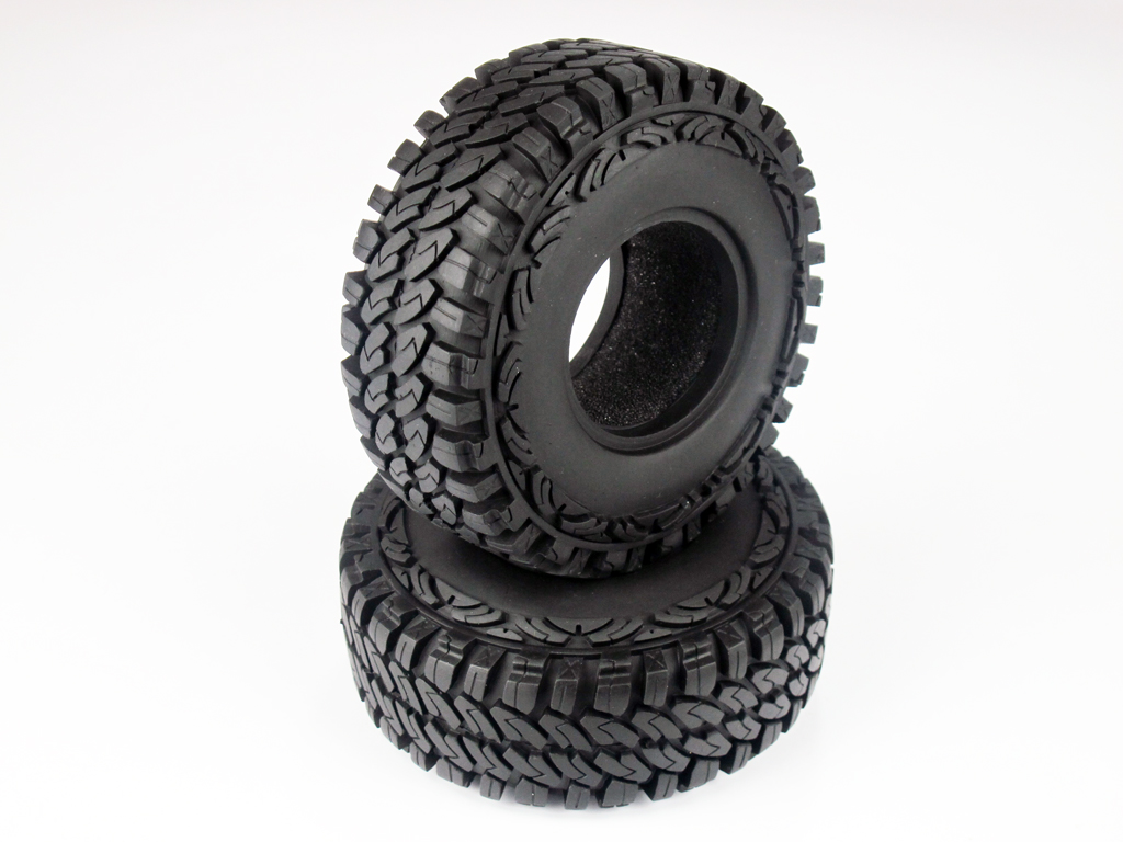 4 pcs 110mm OD Tire Set with Foam Insert for 1.9 Rim DY1020223D